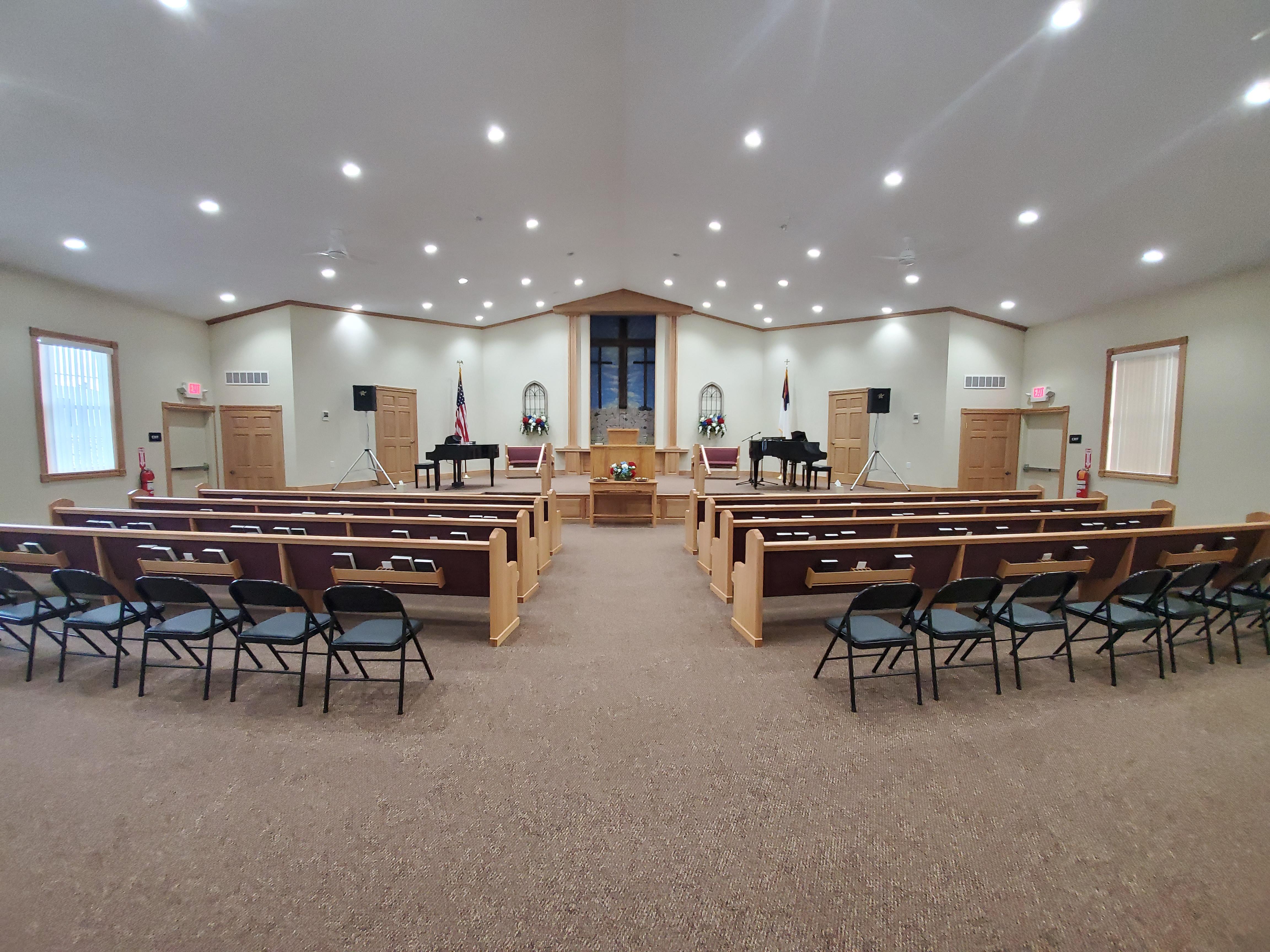 Crossroads Baptist Church Sanctuary